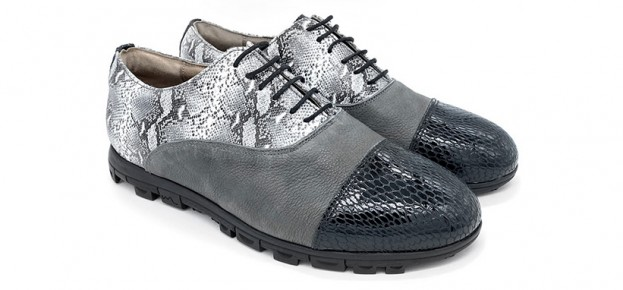 Diamond Negro - Basic Gris Marengo - Serpiente Gris