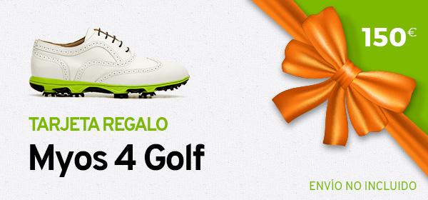 Tarjeta Regalo Myos 4 Golf